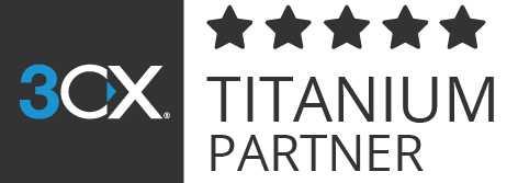 3CX TITANIUM PARTNER LOGO